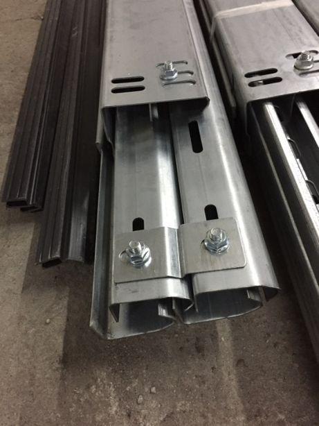 Prowadnice do bram segmentowych dla wys. 3,00 m ZESTAW - 022