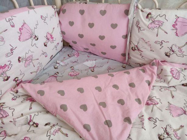 Балдахин бортики постельное детское одеяло