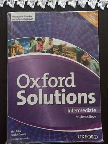 Oxford solutions intermediate student,s book