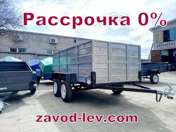 Двухосный прицеп 100% Хит продаж Лев-300 (от Завода)