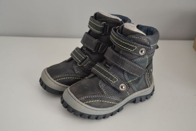 Buty zimowe Lasocki r.22 chłopięce j.NOWE ccc