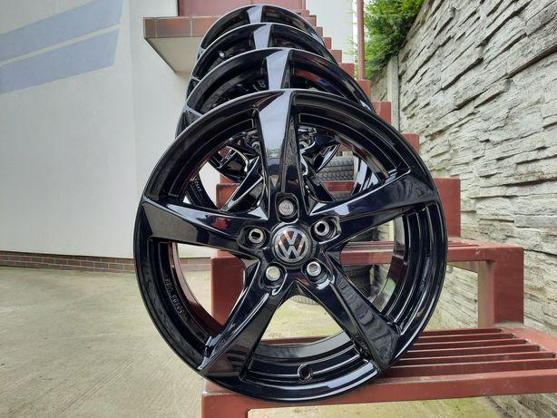 ALUFELGI NOWE VW 17 5x112 Turan Passat Golf Jetta T-Roc Scirocco BLACK