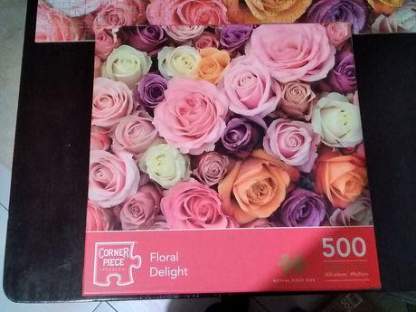 Puzzle idealne róże