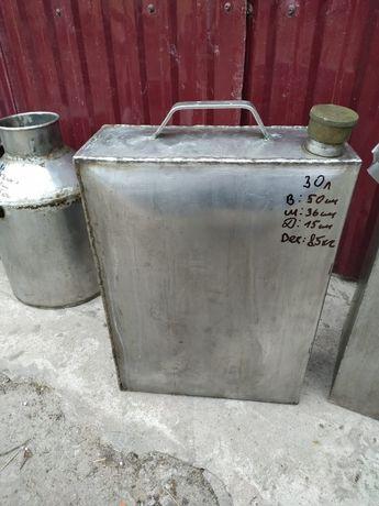 Канистра из нержавеющей стали пищевая 30 л.