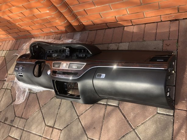 Торпедо Mercedes S221 Торпедо/Панель приборов/Торпеда/Airbag