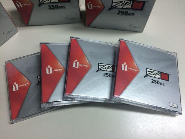 Caixa Zip Disk 250Mb