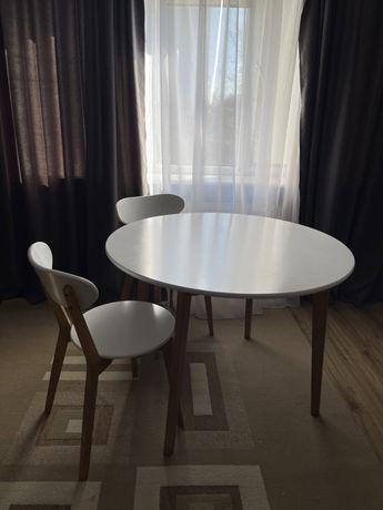 Стіл+ 4 крісла Jysk