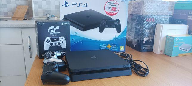 Consola PlayStation 4 PS4 Slim 500GB + comando + caixa