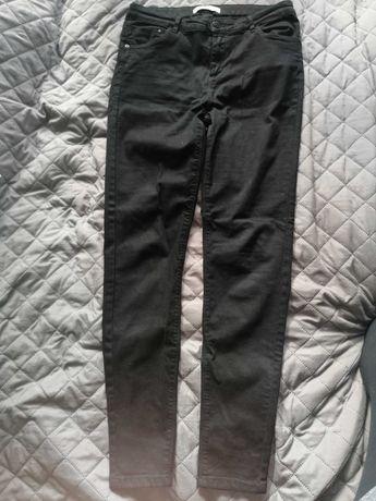 czarne spodnie Reserved, r. 38