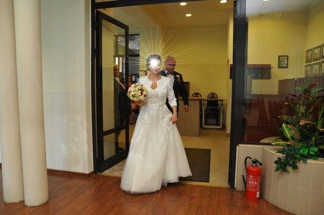 Suknia Ślubna roz. 38 Ecru