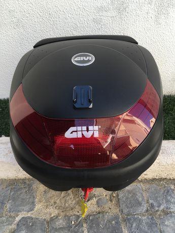 Top Case Givi Monolock 30l e suportes para Kawasaki Z650