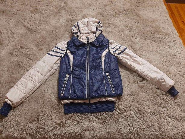 Куртка теплая 2 в 1