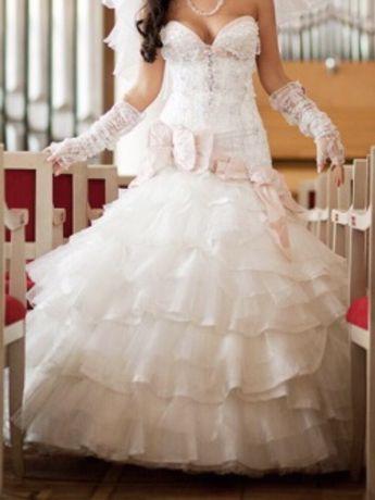 Весільна сукня від Оксана Муха