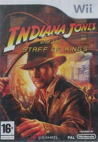 Gra na Nintendo Wii i Wii U: Indiana Jones and the Staff of Kings