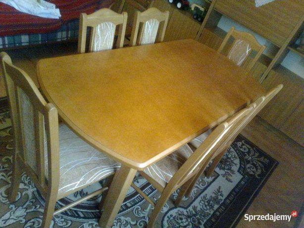 stół rozkładany bukowy