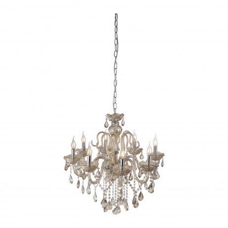 Elegancki żyrandol kryształ GRACIA Paul Neuhaus świecznikowy 3081-97
