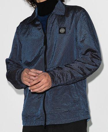 Stone Island Zip-Up Shirt Jacket (не C.P.Company, Burberry, OFF-White)