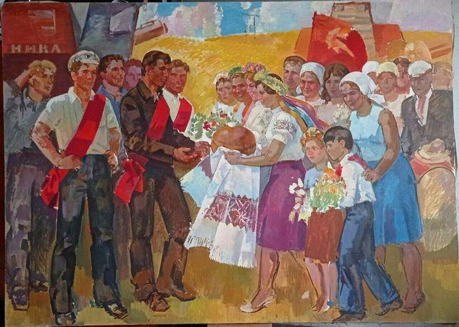 Картина маслом Нестеров В.Д.