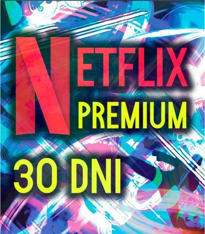 NETFLIX Premium 4K UHD - Natychmiastowa wysyłka - Działa na SmartTV/PC