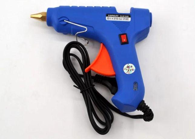 Термопистолет для силиконового клея XL-F60 60W, клеевой пистолет