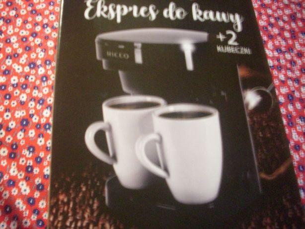 nowy ekspres do kawy dla dwojga