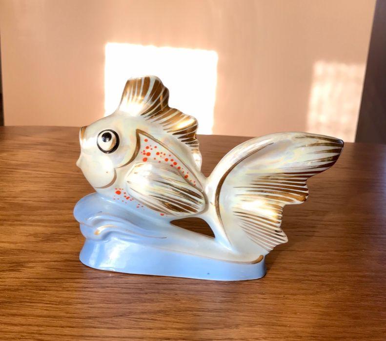Figurka ryba welonka Wawel-Wałbrzych PRL Wrocław - image 1