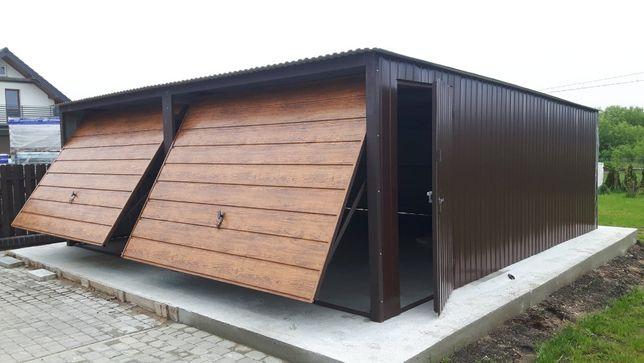 garaż blaszany 6x5 6x6 garaz blaszak 5x5 7x5 4x7 producent lublin