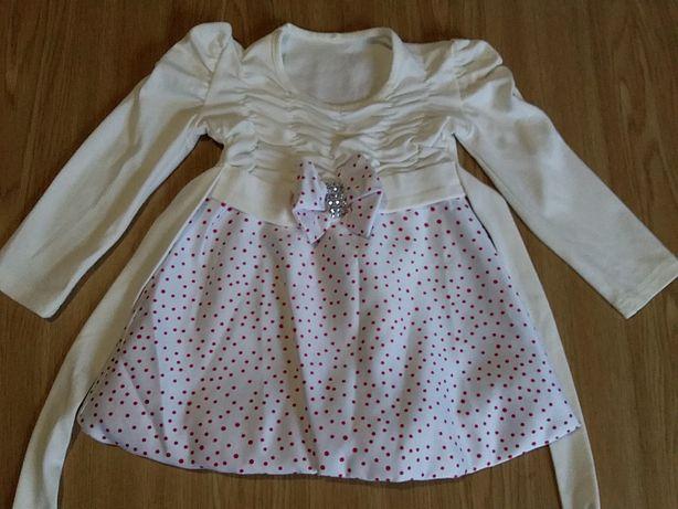 Платье нарядное на 1-1,5 года 80-86см