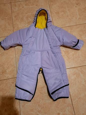 Демисезонный комбинезон.Детский комбинезон.Комбинезон трансформер 0-12