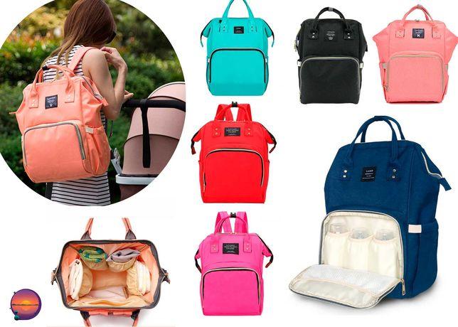 Сумка-рюкзак, органайзер для мамы и малыша Mummy Bag, для коляски