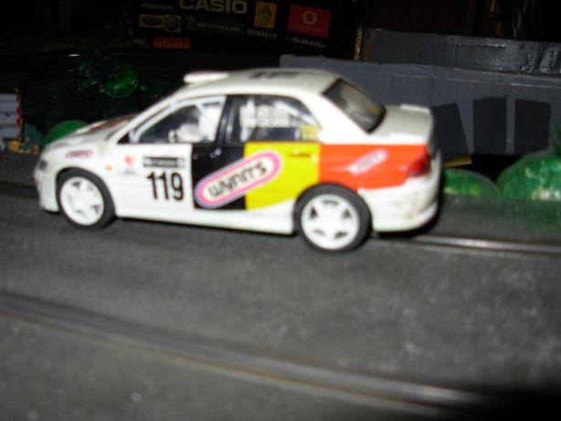 Mitsubishi Lancer Scalextric viatura de Slot 1:32