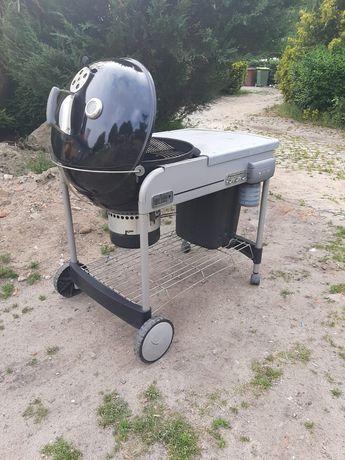 Weber performer grill węglowy odpalany na gaz