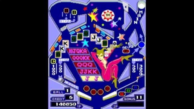 Jogo pinbal original anos 80