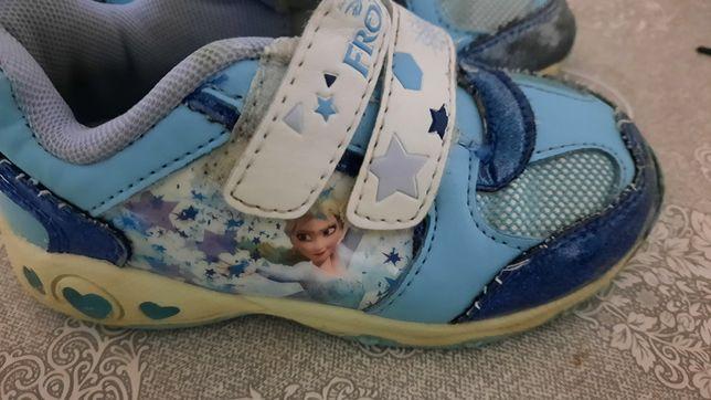 Kraina lodu buty świecące