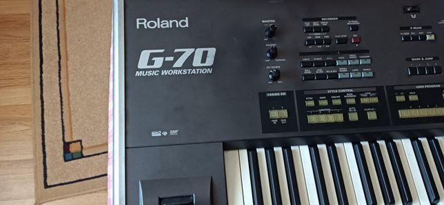 Teclado Roland G-70
