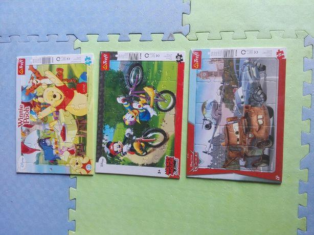zabawki, klocki, puzzle