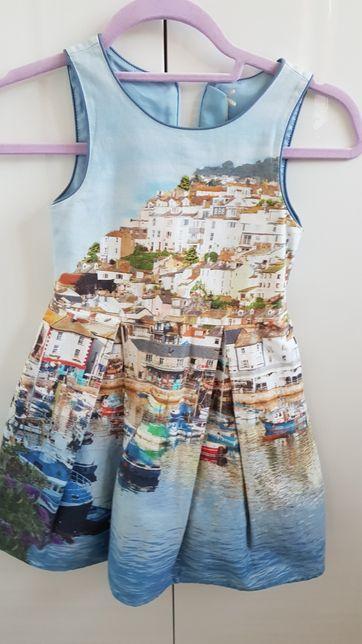 Piękna sukienka wenecja next r 116