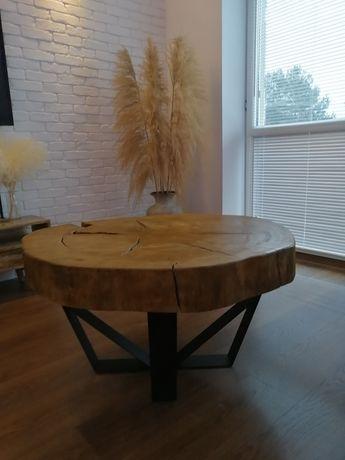 Lawa kawowa, plaster drewna, monolit, lawa