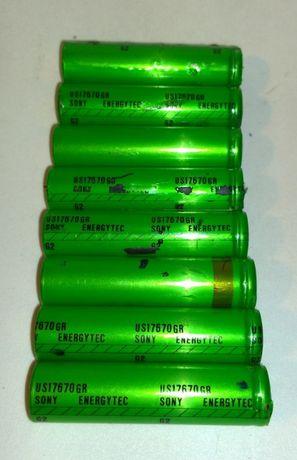 Ogniwo 18650 3,7V Li-ion SONY US17670GR 1500mAh
