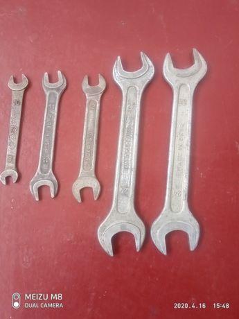 Ключи рожковые и накидной