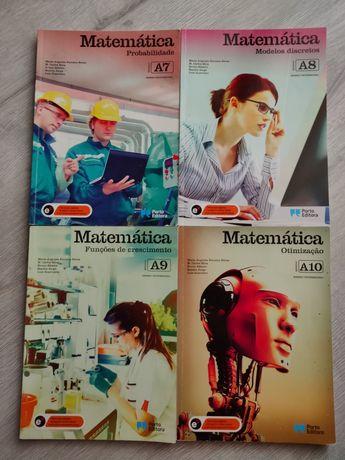 Livros de Matemática (Curso Profissional)