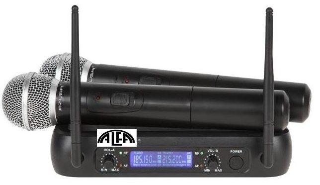 Mikrofony bezprzewodowe do ręki 2 kanały LD-358