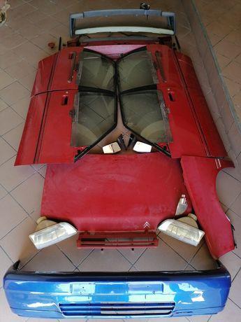 Citroën AX muitas peças (Tenho fotos detalhadas para interessados)