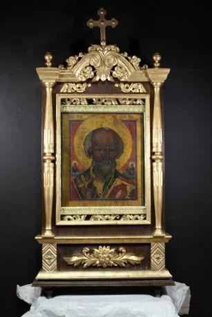 Киот церковный с иконой