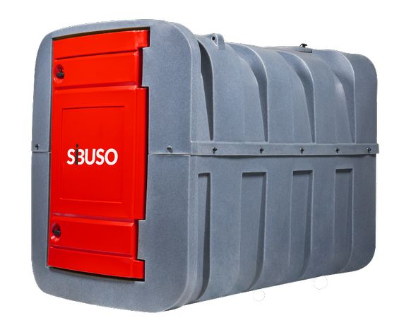 SiBUSO H2500 zbiornik na olej napędowy, 2500 L NOWOŚĆ