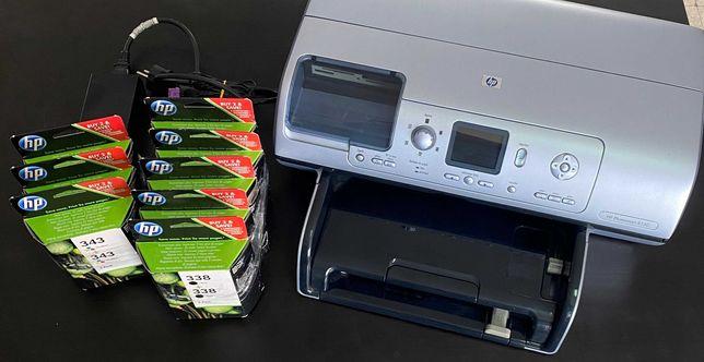Impressora Multifunções HP com 16 Tinteiros Originais