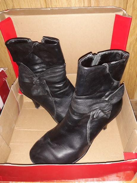 Ботинки/туфли кожаные