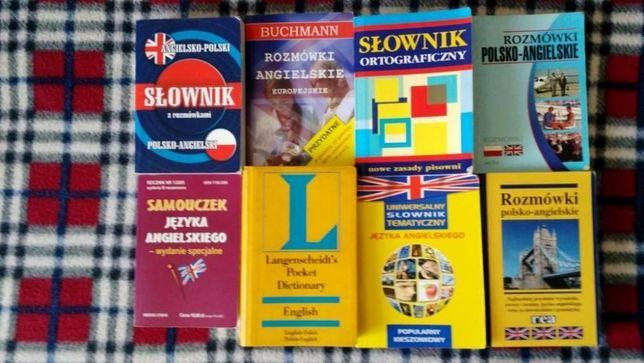 Słownik angielskiego rozmówki samouczek ortograficzny tematyczny kompl