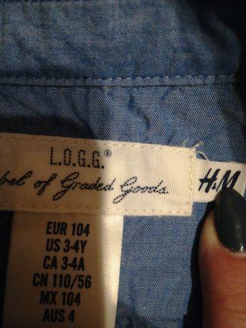 Koszula dla dziewczynki jensowa h&m rozmiar 104
