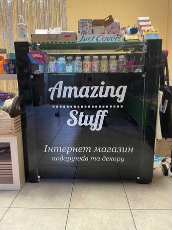 Бесплатно! Б/У мебель для магазина